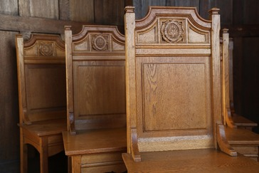 Set of Chapel Chairs
