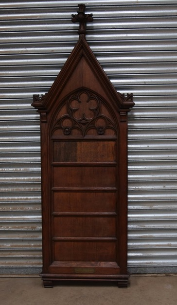 Antique Church Hymn Board